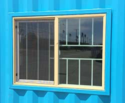 Container Window Modification